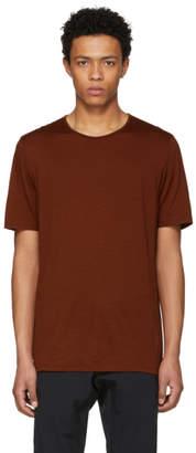 Arcteryx Veilance Red Merino Frame T-Shirt