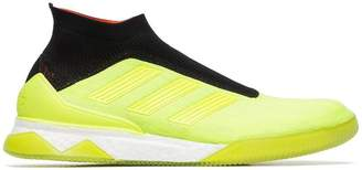 adidas neon, red and black predator 18+ TR sneakers