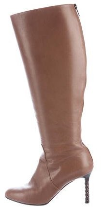Bottega Veneta Bottega Veneta Leather Knee-High Boots