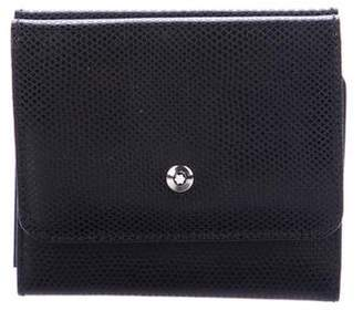 Montblanc Embossed Leather Wallet