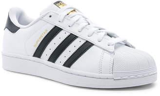 adidas Superstar Foundation in White & Black & White | FWRD