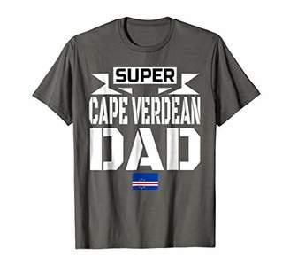 Mens Storecastle: Super Cape Verdean Dad Father's Gift T-Shirt