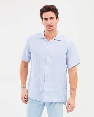 Short Sleeve Shirt Bridge Stripe
