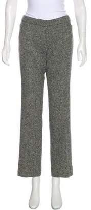 Alexander McQueen Mid-Rise Wide-Leg Pants