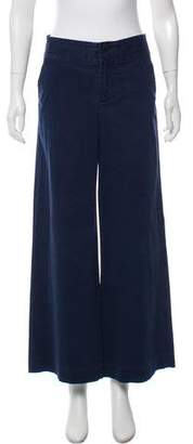 Marc by Marc Jacobs Striped Wide-Leg Trouser