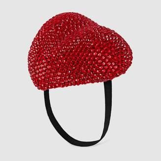 Gucci Dapper Dan crystal hat