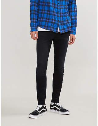 The Kooples Zipped-cuff skinny jeans