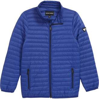 Armani Junior Packable Puffer Coat