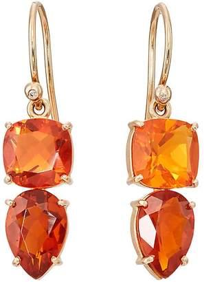 Irene Neuwirth Women's Fire Opal Earrings