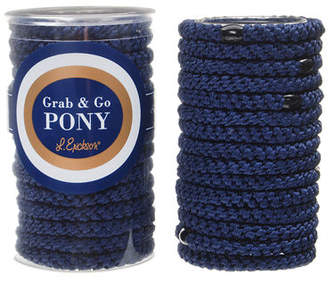 L. Erickson Grab & Go Pony Ponytail Holders in Tube
