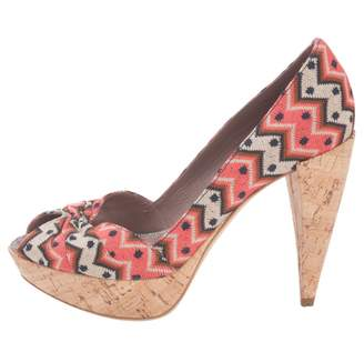 Missoni Multicolour Leather Heels