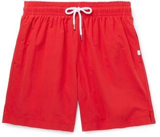 Derek Rose Aruba Slim-Fit Mid-Length Swim Shorts