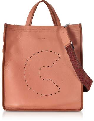 Coccinelle C Bag Grained Leather Tote