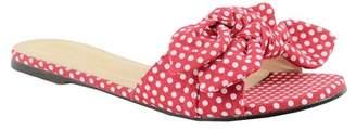 Chloé Chase & Julia Knotted Bow Slide Sandal