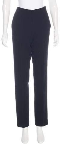 Christian Dior Wool High-Rise Pants
