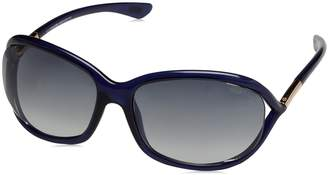 Tom Ford Women's Jennifer FT0008-90W-61 Oval Sunglasses