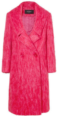 Paper London Rainbow Mohair-blend Coat - Pink
