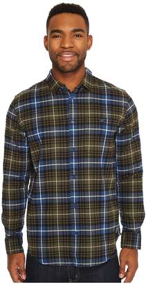 DC South Ferry Long Sleeve Flannel Top Men's Long Sleeve Pullover