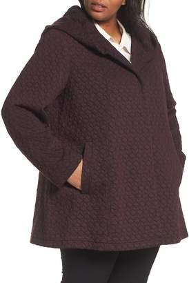 Gallery Cozy Knit Coat (Plus Size)