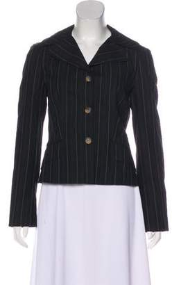 Dolce & Gabbana Notch-Lapel Long Sleeve Blazer