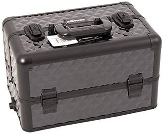 Craft Accents 3-Tiers Tray Professional Aluminum Cosmetic Makeup Case