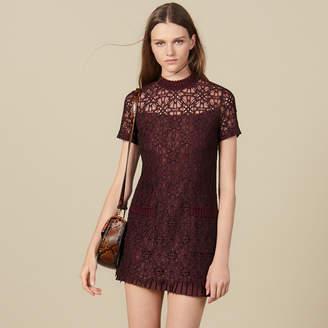 Sandro Short Lace Dress