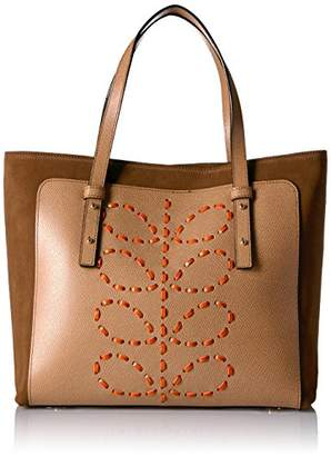 Orla Kiely Laced Stem Leather Tillie Bag