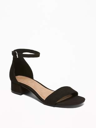 Old Navy Faux-Suede Low-Heel Sandals for Women