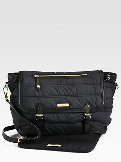 Burberry Nylon Messenger Diaper Bag