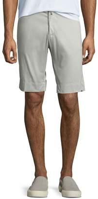 Kiton Men's Twill Slim-Straight Shorts