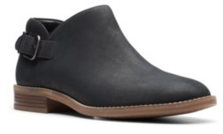 Clarks Collection Women's Camzin Pull Booties Women's Shoes