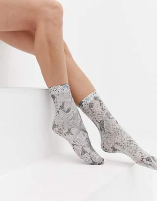 Asos Design DESIGN snake socks