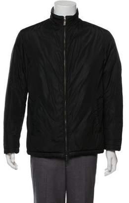 Etro Cashmere-Lined Zip-Up Jacket