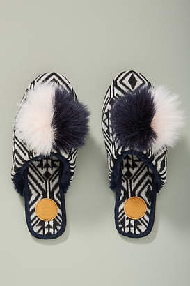Graziella Far Away From Close Pommed Slippers