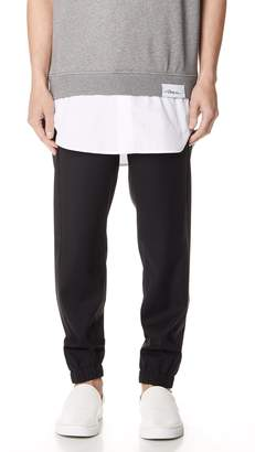 3.1 Phillip Lim Classic Lounge Pants with Tuxedo Stripe