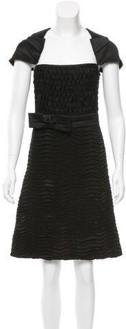 pradaPrada Textured Silk Dress