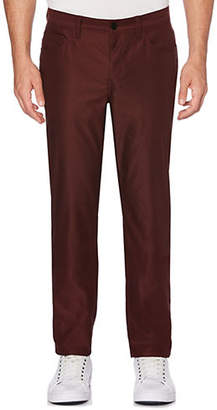 Perry Ellis Slim-Fit Twill Pants