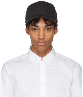 Paul Smith Black Basic Baseball Cap