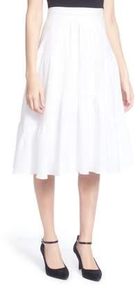 Catherine Malandrino Dom Cotton Ruffle Skirt