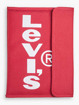 Levi's Oversized Red Tab Tech Pouch With Flap