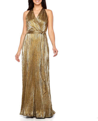 Chetta B BE BY Be by Sleeveless Belted Evening Gown