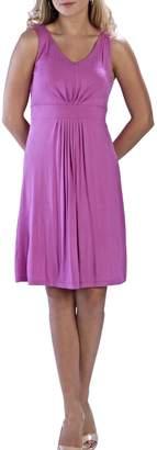 Neesha Sleeveless Berry Dress