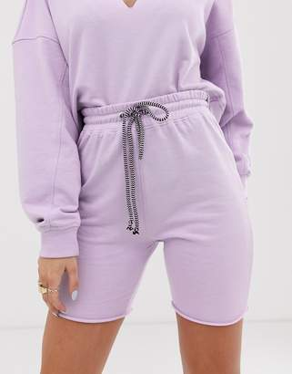 Public Desire X Lissy Roddy sweat shorts co-ord