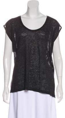 Isabel Marant Linen Sleeveless Top