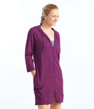 L.L. Bean L.L.Bean Hooded Swim Cover-Up