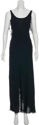 Ralph Lauren Sleeveless Evening Dress