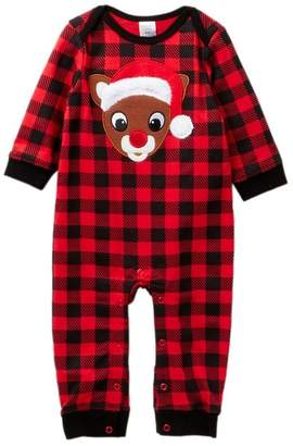 Buffalo David Bitton Rudolph the Red-Nosed Reindeer Rudolph Plaid Coverall (Baby)