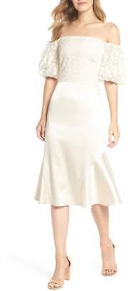 Gal Meets Glam Adele Off the Shoulder Dress