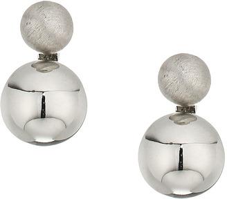 Rebecca Minkoff - Mini Double Sphere Stud Earrings Earring $38 thestylecure.com