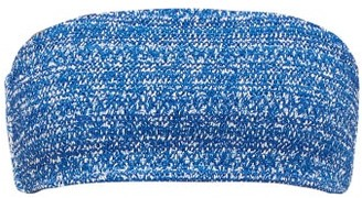 The Upside Beverly China Print Shirred Bikini Top - Womens - Blue White